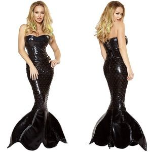 High Quality Dark Mermaid Mistress Costume